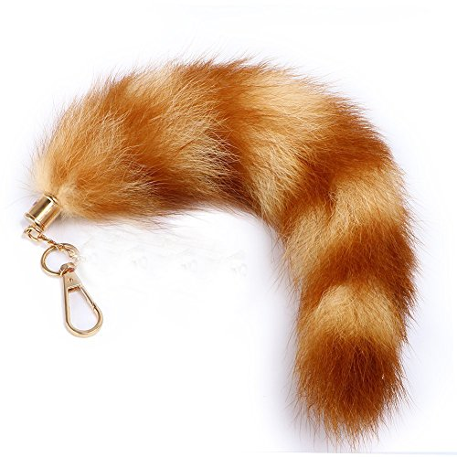 Raccoon Tail X large ! Brown (Racoon Tail)