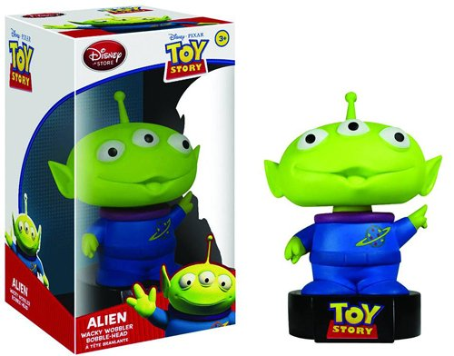 Disney Toy Story Funko Talking Wacky Wobbler Alien