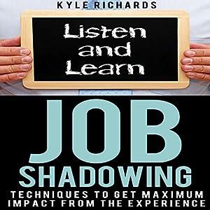 Job Shadowing Audiobook