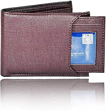 ADAMZAC Brown Faux Leather For Boys - Clip Wallet