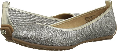 Bandolino Women's, Manderio Slip on Flats Gold 6 M