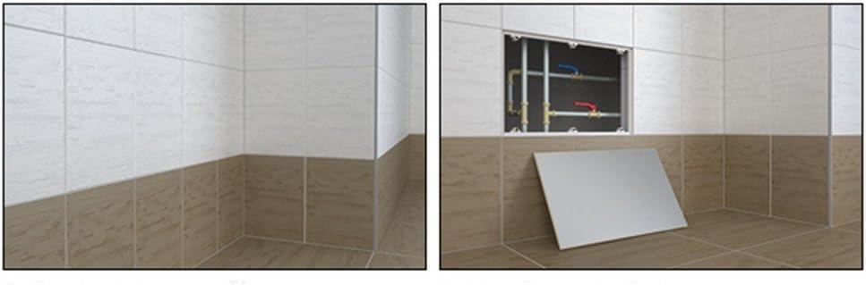Resistente Acceso Panel Con Panel de Yeso Puerta Y Marco de Aluminio Revisi/ón Aleta 150mm x 150mm