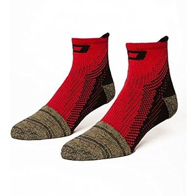 Pedestal Footwear Unisex Adult Hybrid2.5- Unisex Performance Socks