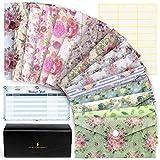 Sachielle Cash Envelope System Wallet - 15 Floral