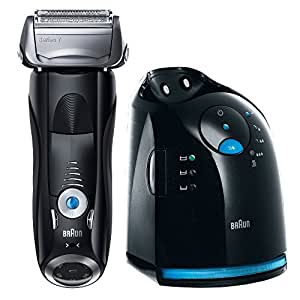 Braun Series 7 760Cc Electric Wet And Dry Foil Shaver With Clean And Charge Station