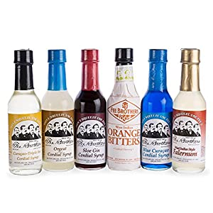 Fee Brothers Bar Cocktail Mixers Starter Set