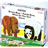 University Games Brown Bear-Panda Bear, What Do You See? Game