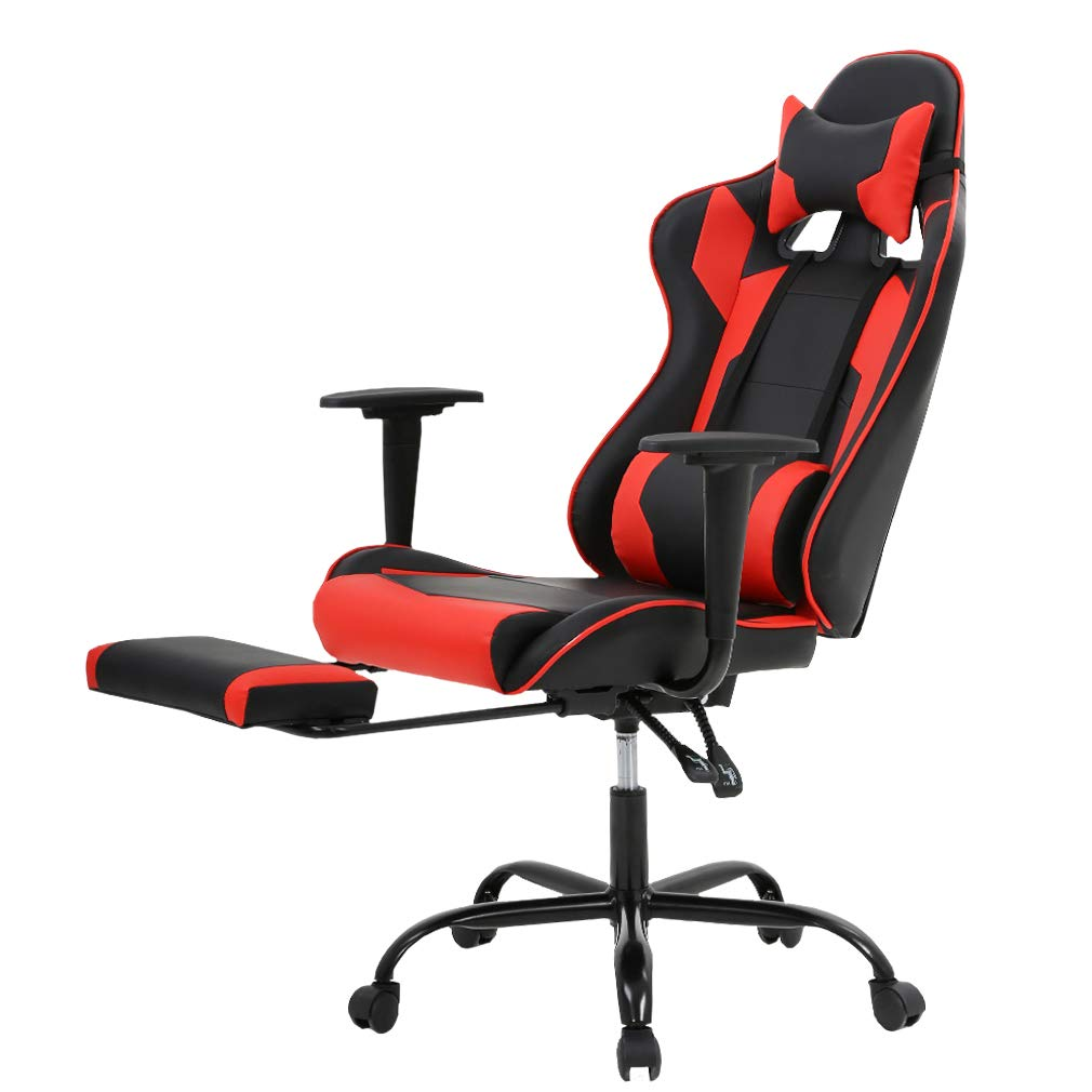 New Office Gaming Chair High-Back Computer Chair Ergonomic Design Racing Chair by BestOffice