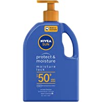 NIVEA SUN Protect & Moisturising 4 Hour Water Resistant Sunscreen Lotion. Made in Australia with Vitamin E & Panthenol…