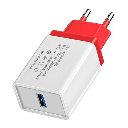 Ben-gi Universal del teléfono móvil de Carga rápida Cargador de Viaje Enchufe de la UE Pared rápido reemplazo Adaptador de la Carga 3.0 USB para ...