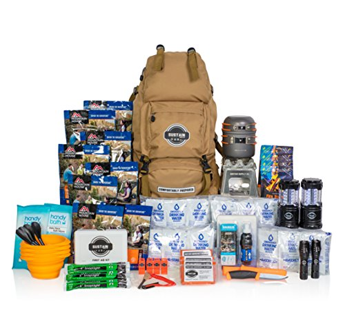 - Premium Family Emergency Survival Bag/Kit – Be Equipped with 72 Hours of Disaster Preparedness Supplies for 4 People