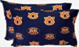 Auburn Printed Pillow Case - (Set of 2) - Solid by College Covers