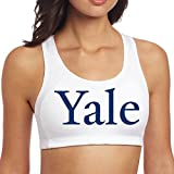 Women's Yale University Logo Sports Vest White offers