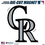 "Stockdale Colorado Rockies SD 12"" Logo MAGNET Die Cut Vinyl Auto Home Heavy Duty Baseball"