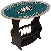 Fan Creations N0818-PHI Philadelphia Eagles Distressed End Table