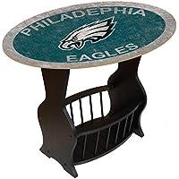 Fan Creations N0818-PHI Philadelphia Eagles Distressed End Table