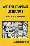 Ancient Egyptian Literature, Miriam Lichtheim, 0520028996