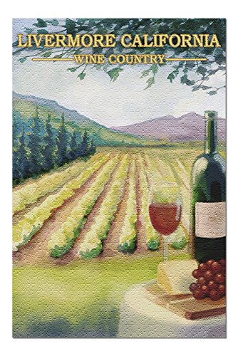 33402 Wall - Livermore, California - Wine Country (20x30 Premium 1000 Piece Jigsaw Puzzle, Made in USA!)