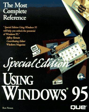 Using Windows 95: Special Edition: Amazon.es: Person, Ron ...