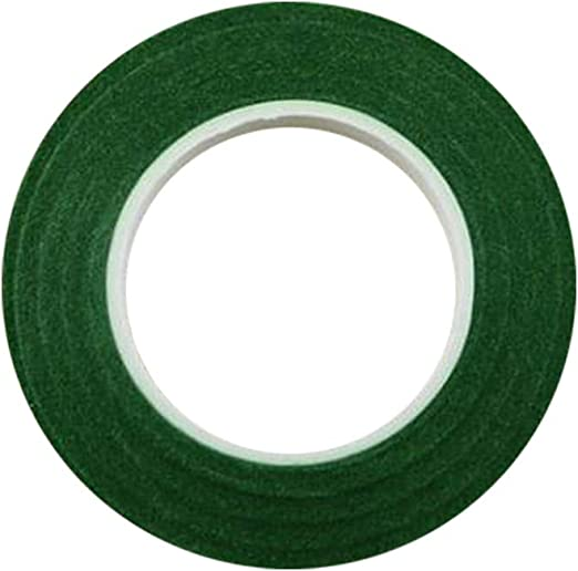 Nexxxi 12 Roll Floral Tapes 1//2 by 30 Yards Dark Green Flower Stem Wrap Tape for Bouquet Stem Wrapping and Floral Crafts