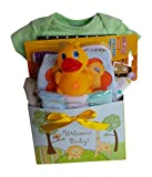 Baby Gift Basket - New Arrival - Cute Baby Essentials - Neutral Colours