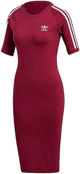 TALLA 28. adidas 3 Stripes Pantalón Corto Mujer rosa (rubmis) 28