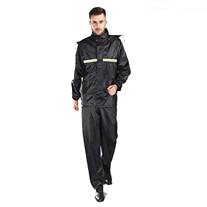 ChenYongPing Impermeable para Moto y Chaqueta Impermeable ...