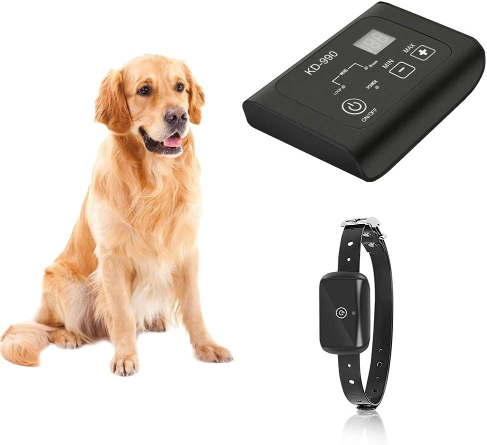VINSIC Shock Collar for Dogs,Dog Traning Collar With Remote 300 Meters Remote Control Mini Dog bark Collar for Small Large Dog with LCD Display 1-5 Level Shock and Vibration, Safe for Small Large Dogs