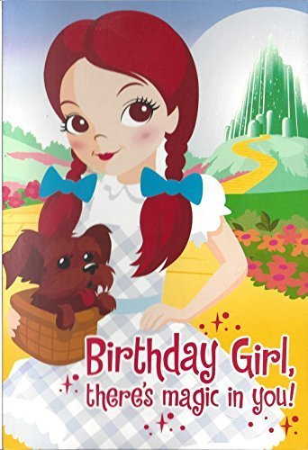 Amazon Wizard Of Oz Birthday Card Red Shimmery Shoe Laces W