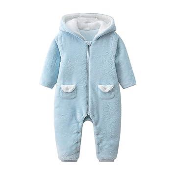 QSEFT Mamelucos del Bebé Recién Nacido Bebé Niño Niñas Traje ...