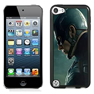 New Personalized Custom Designed For iPod Touch 5th Phone Case For Chris Evans Captain America 2 Phone Case Cover