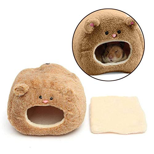 FidgetGear Winter Warm Small Animal Pet Hamster House Bed Rat Squirrel Hanging House Cage from FidgetGear