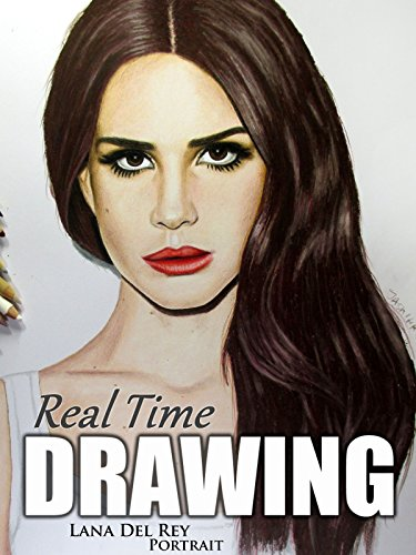 Real Time Drawing Lana Del Rey Portrait by