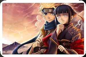 "Hinata Naruto Metal Poster Tin Plate Sign 8""x12"""