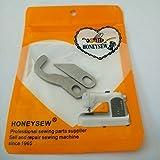 HONEYSEW Upper + Lower Knife for Brother 3034D