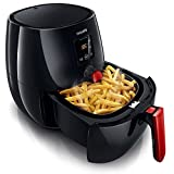 Philips HD9238 Viva Collection 220 Volt Digital Airfryer with Rapid Air Technology, Black