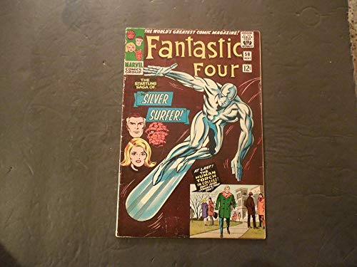 (Fantastic Four #50 May 1966 Silver Age Marvel Comics)
