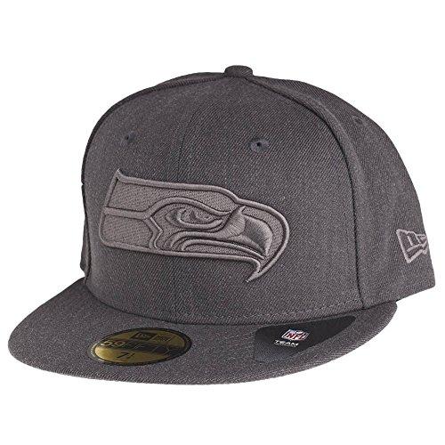 New Era Herren Fitted Cap Tonal Graphite Seattle Seahawks grau grau 7 3/8 - 58,7cm