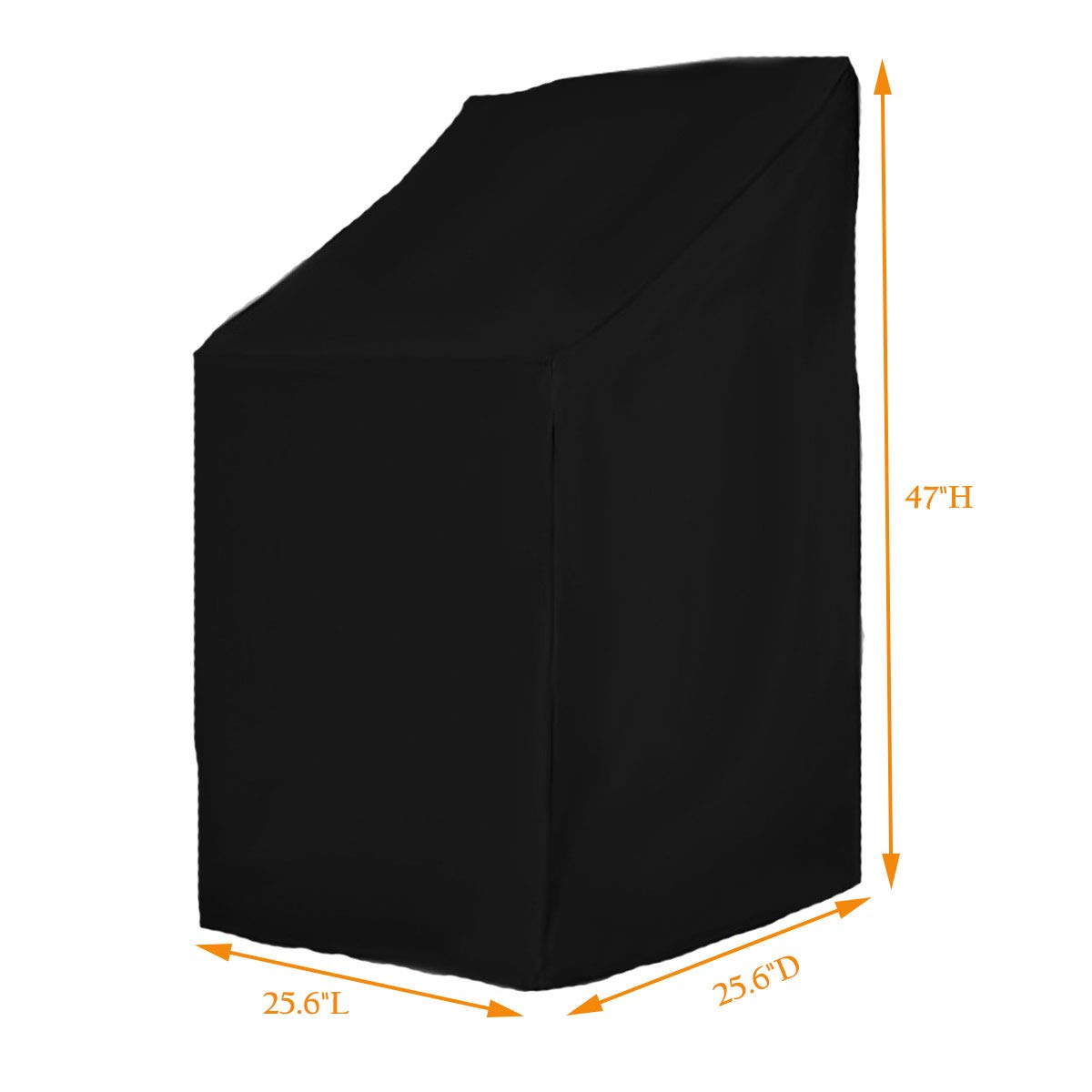1pc Durable 210D Cloth Waterproof Outdoor Anti-UV Patio Grill Protector