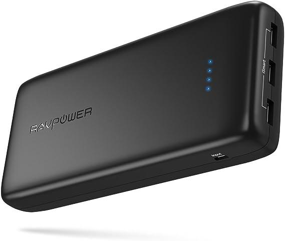Amazon.com: Power Banks RAVPower 32000mAh 6A Output cargador ...