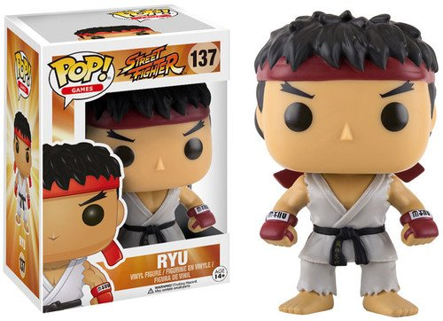POP! Vinilo - Games Street Fighter Ryu