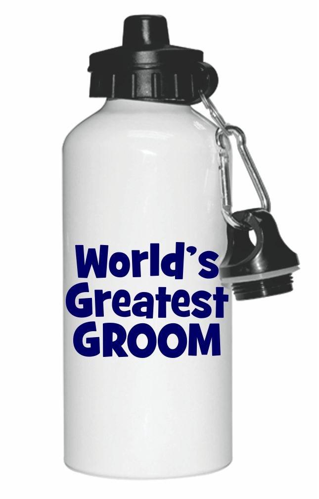 Blue World's Greatest Actor Design Sports Water Bottle Sport Bottle Flip Top 20oz by Rikki Knight Dis-WaterBottle-r-3156