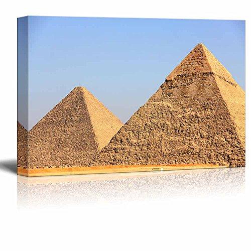 Beautiful Scenery Landscape Pyramids of Giza in Egypt Wall Decor