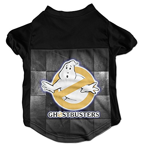 Cute Slimer Costumes (Ghostbusters Log Cute Puppy Dog Clothes Sweaters Shirt Hoodie Coats)