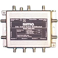 Sima SMS-38A 3-in/8-out Active MultiSwitch