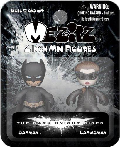 (Mezco Toyz Dark Knight Rises Mezitz 2in 2-Pack)