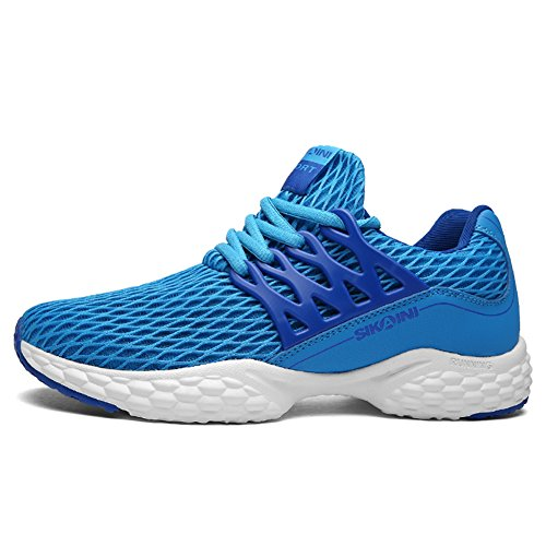 Men's sports shoes training shoes breathable comfortable fitness mesh shoes casual outdoor shoes neutral Blue