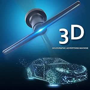 Holograma 3D Pantalla de publicidad LED Ventilador Imagen ...