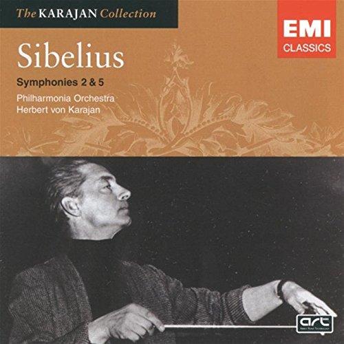 Sibelius: Symphonies Nos. 2 and 5 (The Karajan Collection) (Sibelius Symphony 5 Karajan compare prices)