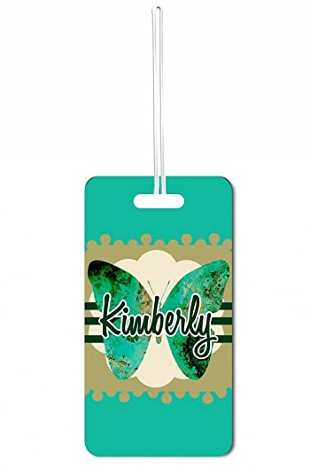 Grunge Butterfly Jacks Outlet Set of 2 Customizable Luggage Identifier Tags